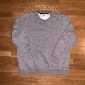 Reebok Fleece Crewneck Sweatshirt Size XL